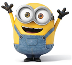minion hands up